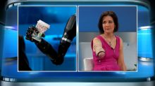 Woman with Prosthetic Arm That Can Feel!