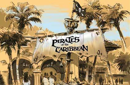 Arrr, matey: New Pirates of the Caribbean MMO deets