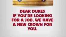 A los duques Harry y Meghan les han ofrecido trabajo y una nueva corona: la de Burger King