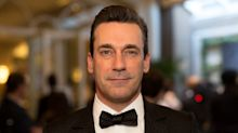 Jon Hamm downplays college hazing incident in which a man's pants were lit on fire — calls it a 'bummer of a thing'