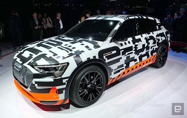 Audi to unveil the 2019 e-tron on September 17th