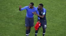 The Latest: Pogba dedicates France win to freed Thai players