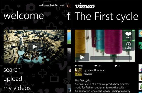 Vimeo app lands for Windows Phone, lets you upload your next student film over 3G