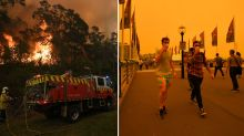 'Too big to put out': Mega fire near Sydney will burn for 'many weeks'