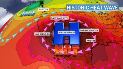 Relentless heat wave to bake U.S. for weeks
