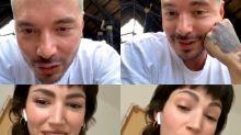 El vídeo viral de Úrsula Corbero y J Balvin haciendo rimas sexuales