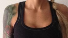 Was this woman's top too sexy for the gym?