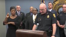 Fake sign language interpreter gatecrashes press conference to deliver nonsense message
