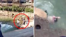 Student almost drowns after simple mistake at popular tourist spot