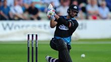 Worcestershire batsman Ross Whiteley hits six sixes in an over