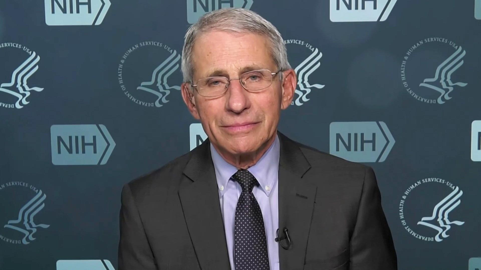 Dr. Fauci on what Americans can do to limit pandemic's harm
