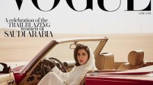 Vogue Arabia celebrates Saudi women finally being given the right to drive with feminist cover