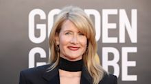 'Forever flawless': Laura Dern's red carpet tuxedo is winning this year's Golden Globes fashion