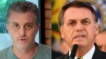 """Huck critica frieza de Bolsonaro com mortes: """"Preocupado com Tubaína"""""""