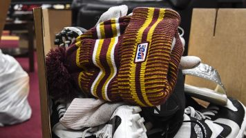 You can't buy Redskins gear at Nike store