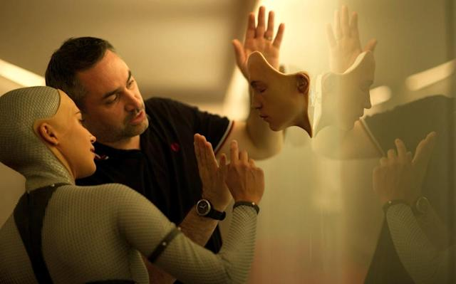 'Ex Machina' director embraces the rise of superintelligent AI
