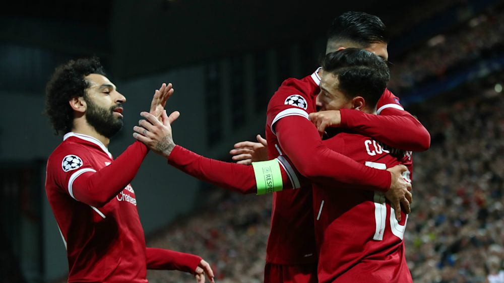 Liverpool 7 Spartak Moscow 0: Captain Coutinho leads rampant Reds through as group winners