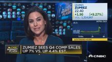 Zumiez jumps on strong comps, raised EPS guidance