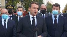 """Attentat de Nice: Emmanuel Macron dénonce une """"attaque terroriste islamiste"""""""