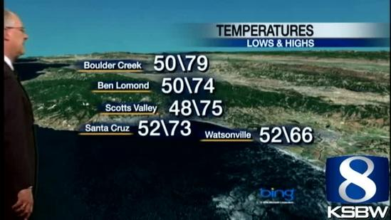 Watch Your KSBW Weather Forecast 05.09.10