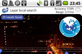 Layar augmented reality app now available globally, lets you hunt down tweeps with cold, calculated precision