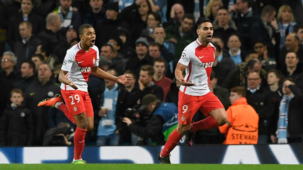 Mbappe-PSG links 'complicated', says Monaco striker Falcao