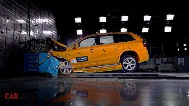 美國NHTSA撞擊測試,VOLVO六款車型獲滿分五顆星最高評價!