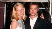 Gwyneth Paltrow says she is still 'friendly' with former boyfriend Brad Pitt
