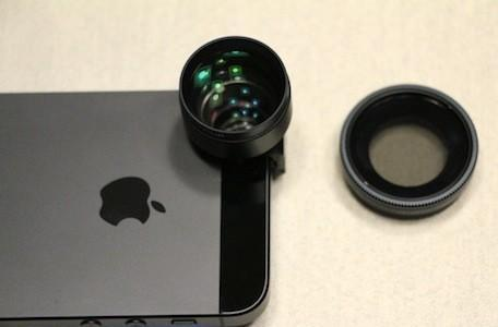 Olloclip's Telephoto + Circular Polarizing Lens: Up close and personal