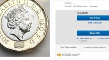 New pound coin: 'Rare' 12-sided £1 coins on sale on website eBay for up to £2.5k