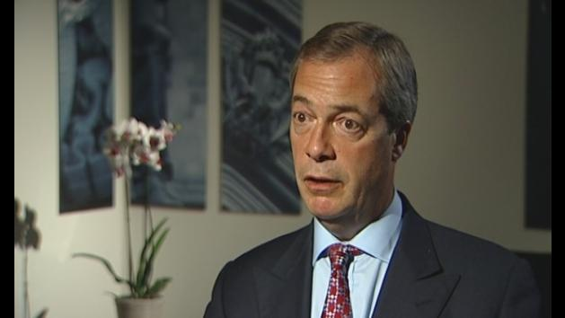 Farage: Immigration discussions 'plain common sense'