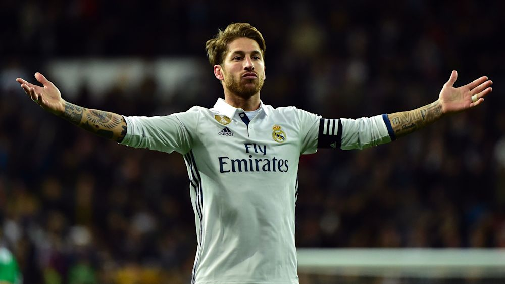 Sergio Ramos reaches 100 Champions League games for Real Madrid