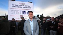 'It just slipped out of my hand', says man who threw second milkshake over Tommy Robinson