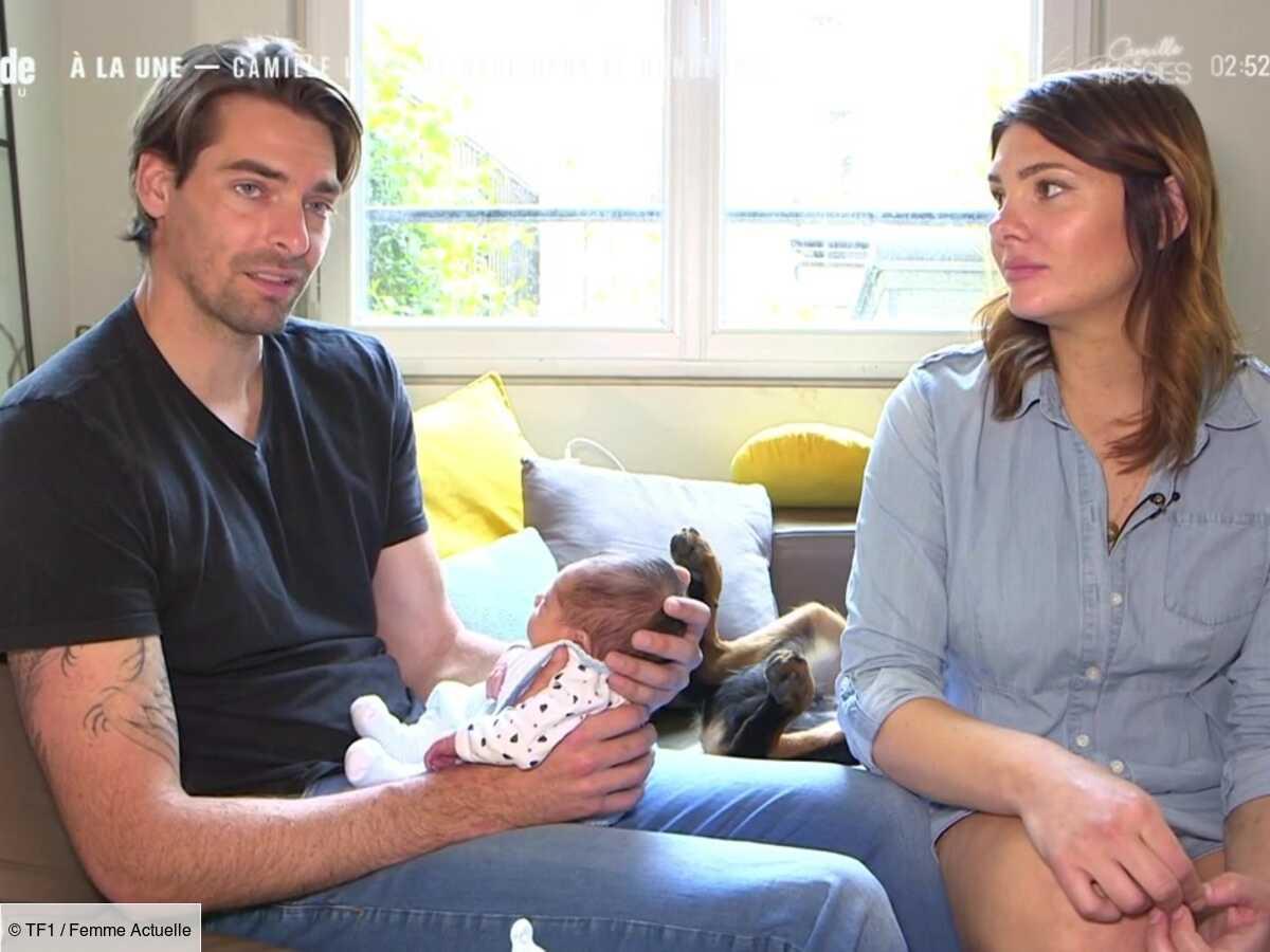 """""""La pire nuit de ma vie"""" : Camille Lacourt et Alice Detollenaere racontent les terribles détails de la naissance de leur fils"""