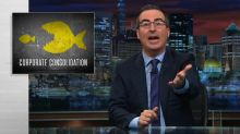 John Oliver calls out politicians for letting corporate consolidation destroy small businesses