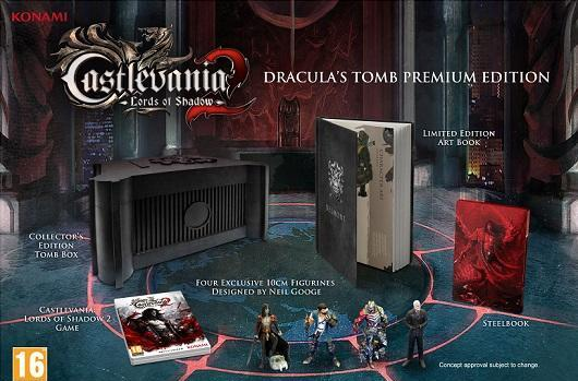 Castlevania: Lords of Shadow 2 Premium Edition for Europe, new trailer and screens for all