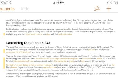 Authors rejoice! Pages for iOS now does a better job round-tripping to MS Word