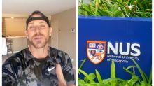 Adult film star Johnny Sins sends video shoutout to graduates of 2020 NUS class