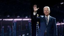 Biden pledges to end US 'darkness' in accepting Democratic nomination