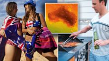 Australia Day scorcher: How your state will fare over blistering long weekend