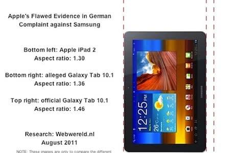 Apple's evidence in Samsung case might not match up