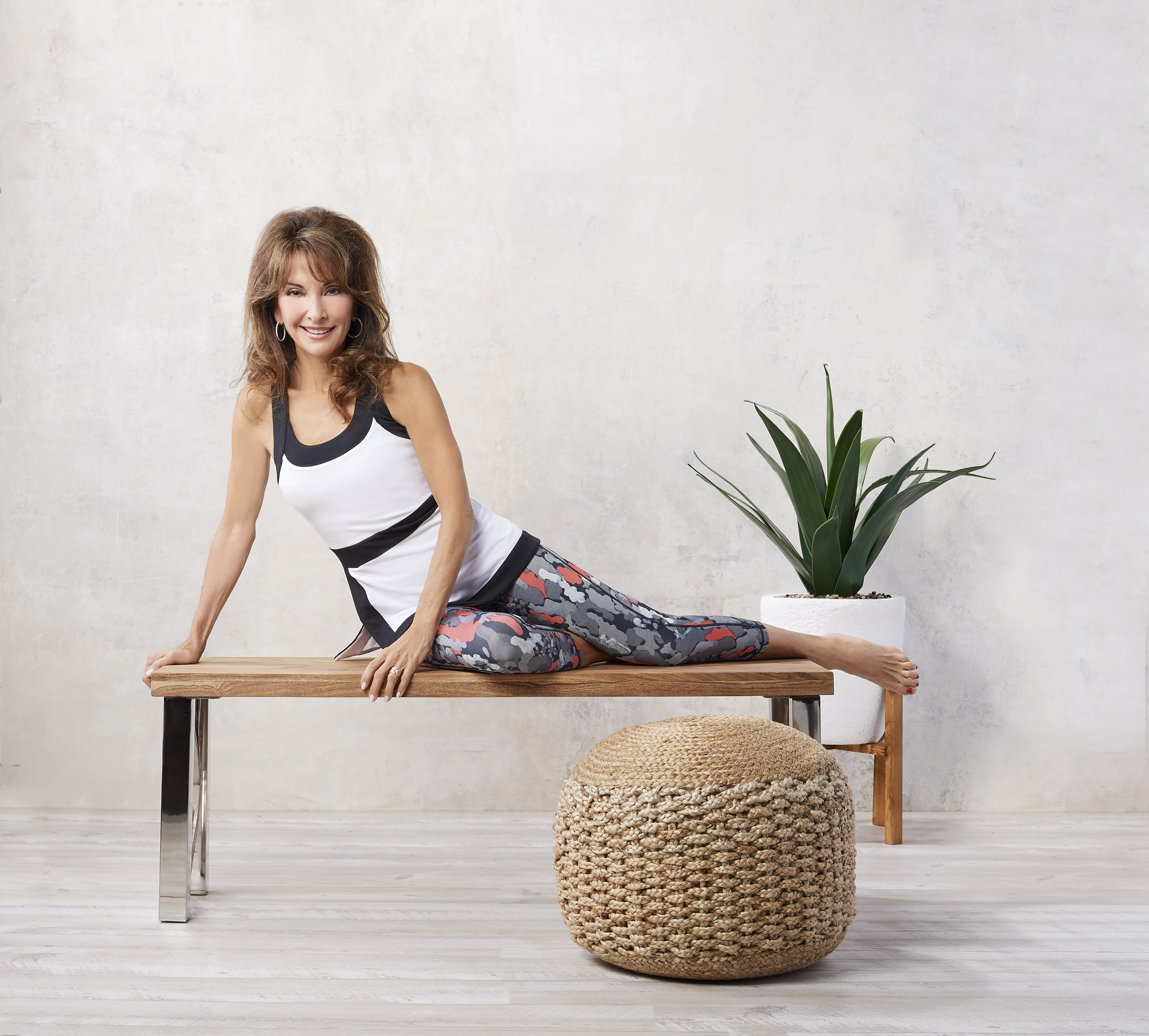 Pilates Chair Dvds Lifes Beach: Susan Lucci To Kick Off Signature Activewear Collection