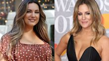 Former 'Love Island' host Kelly Brook claims Caroline Flack is copying her life