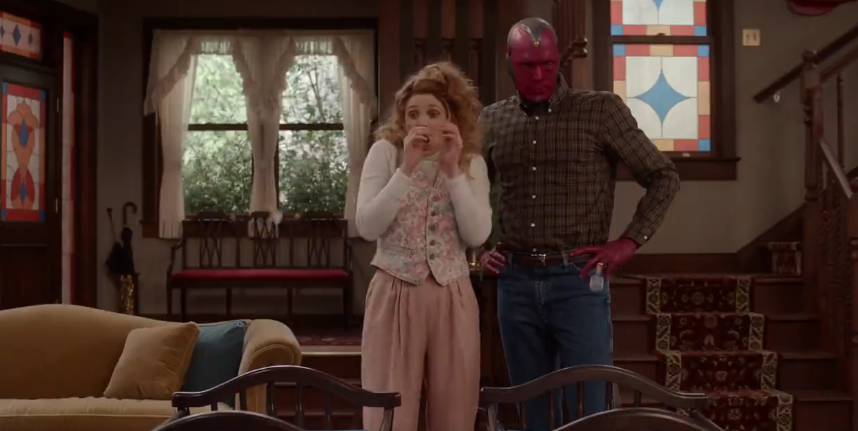 Did Marvel drop some secret spoilers in the new 'WandaVision' Super Bowl ad?