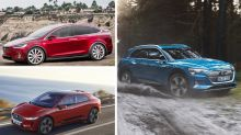 Audi E-Tron vs. Jaguar I-Pace and Tesla Model X: How they compare on paper