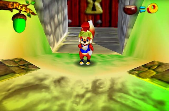 Rare shows the 'Conker' game that never was