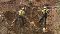 Crews Work To Lower Falling Rock Danger Along I-70