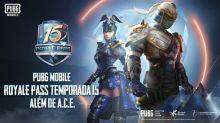 PUBG MOBILE lança Royale Pass Season 15 com recompensas customizáveis