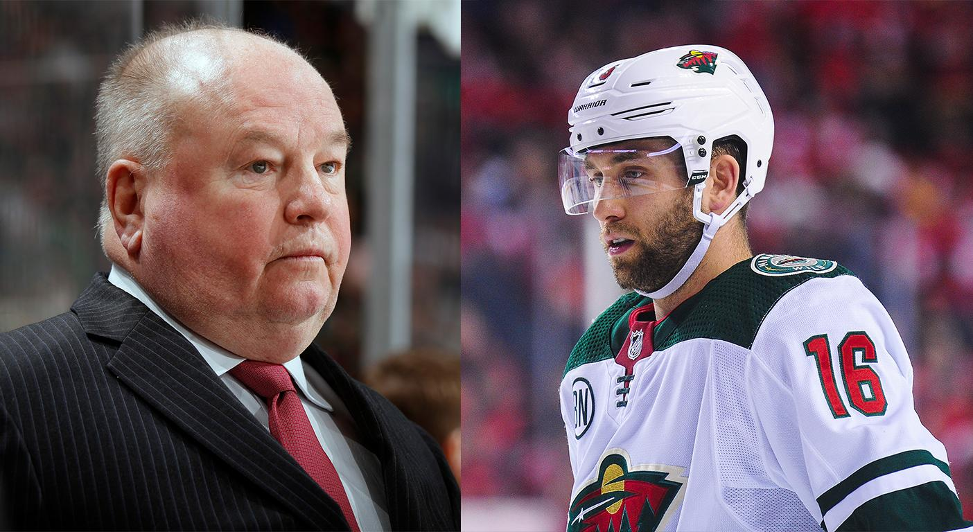 Wild S Jason Zucker Apologizes For Throwing Bruce Boudreau To The