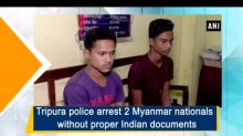 Tripura police arrest 2 Myanmar nationals without proper Indian documents
